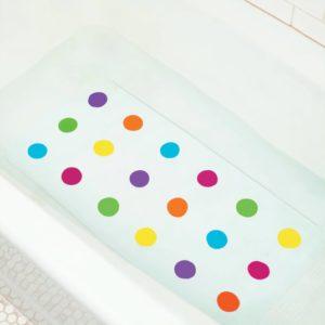 Alfombrilla de baño de lunares