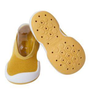 Zapatos Primeros Pasos Corto Mostaza