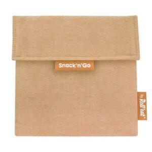Porta Snacks reutilizable Eco Marrón