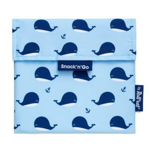 Porta Alimentos Snack n'Go Kids Whales
