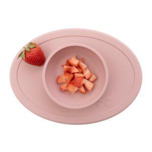Bol de silicona Tiny Bowl Rosa Pálido