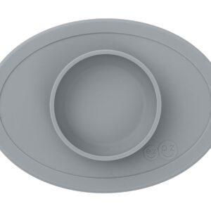 Bol de silicona Tiny Bowl Gris Oscuro