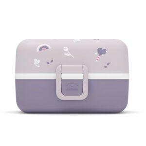 Caja Almuerzo infantil Tresor Violeta Unicornio