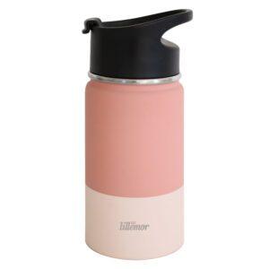 Botella Térmica de Acero Eef Rosa/Crema 375ml
