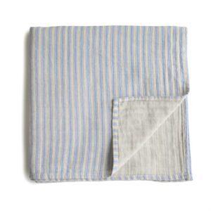 Muselina Mushie Blue Stripe